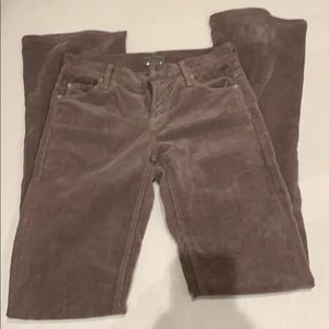 Mother the Runway corduroy pants sz 25. 32 inseam